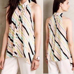Anthropologie Maeve tense swing blouse